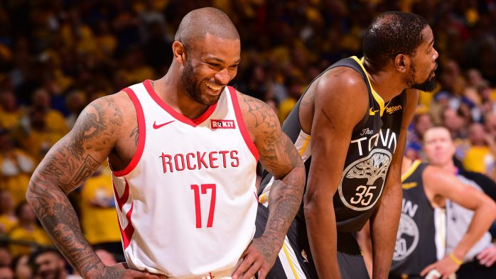 PJ Tucker y su despliegue defensivo contra los Warriors