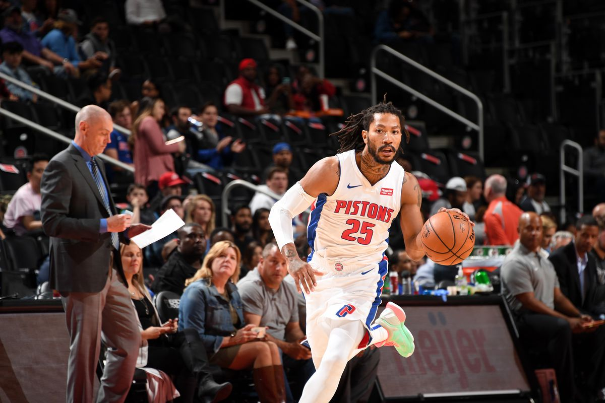 Derrick Rose y su papel en Detroit Pistonts