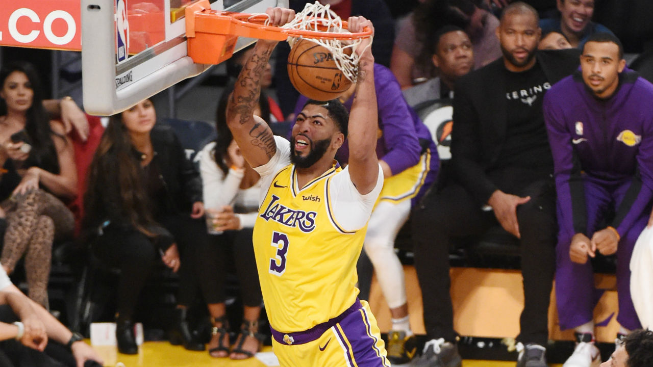 Anthony Davis volverá a firmar con Los Angeles Lakers