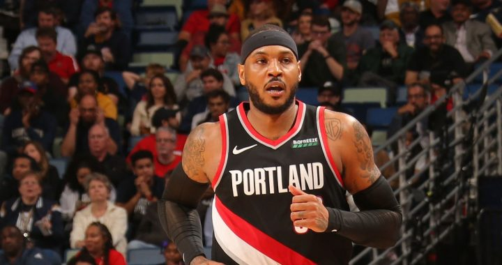 El extraño 'player of the week' de Carmelo Anthony