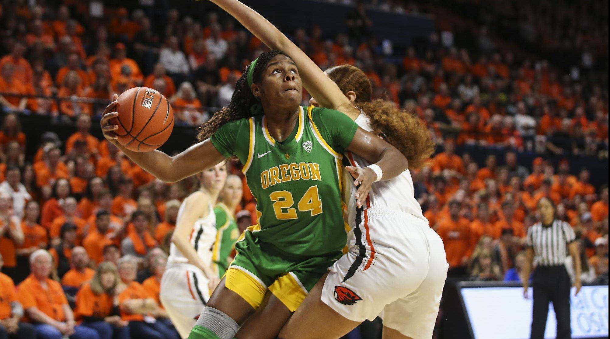 Opinión | Ruthy Hebard es mínimo top 5 del Draft