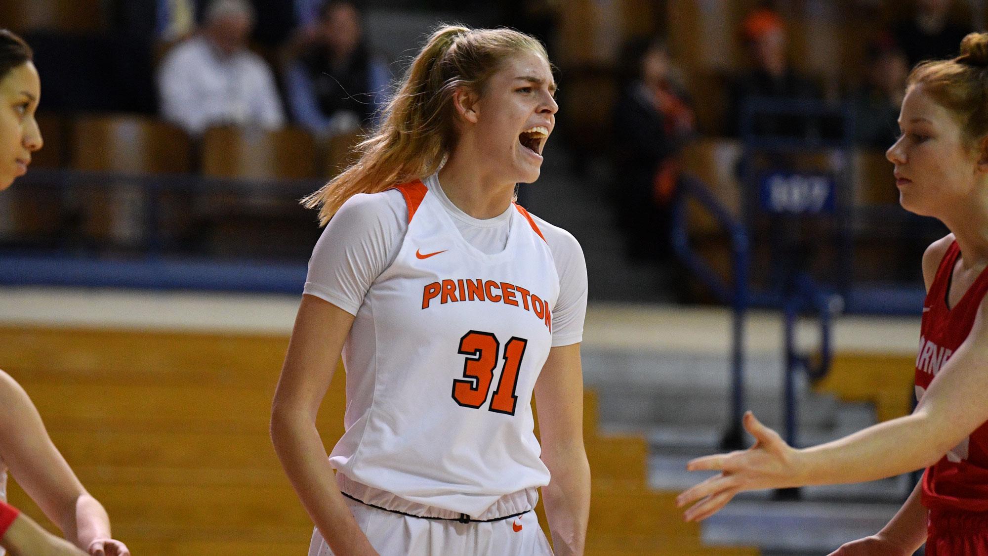 Bella Alarie es la elección de draft más alta en la historia de Princeton