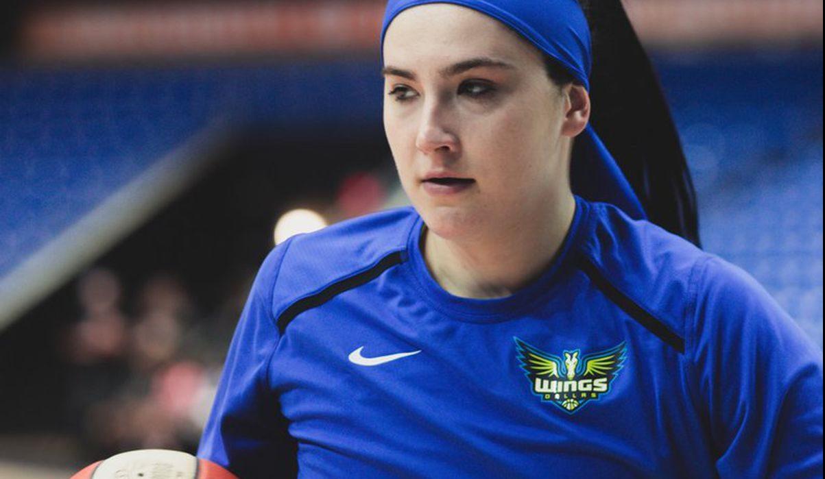 """Megan Gustafson: """"Sería bueno tener fanáticos, pero jugamos por la alegría que nos brinda"""""""