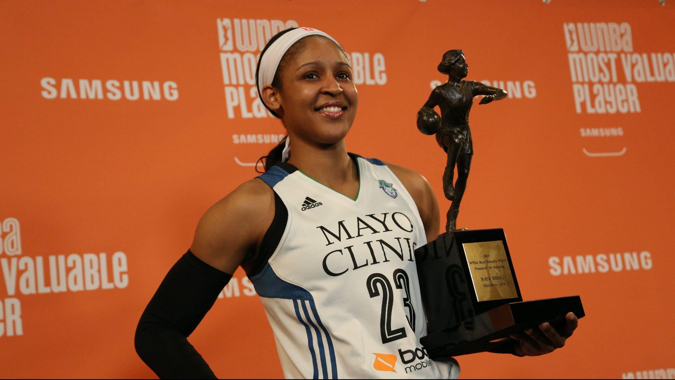 Recordando el MVP de Maya Moore en 2014