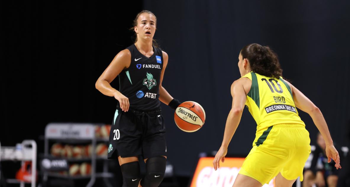 ¿Cómo fue el debut de Sabrina Ionescu en la WNBA?