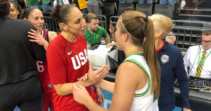Sabrina Ionescu alaba a Diana Taurasi y Becky Hammon