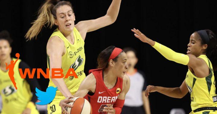 WNBA se asocia con Twitter para transmitir 10 juegos en la red social