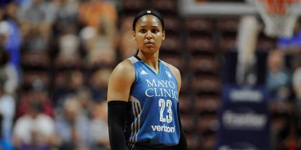 ¿Qué se sabe del regreso de Maya Moore al baloncesto tras su boda?