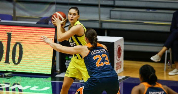 Alina Iagupova no puede contra Satou Sabally, Jasmine Thomas y el Fenerbahçe