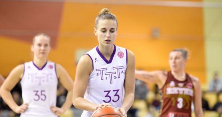 Kitija Laksa busca su oportunidad en Seattle Storm desde el TTT Riga