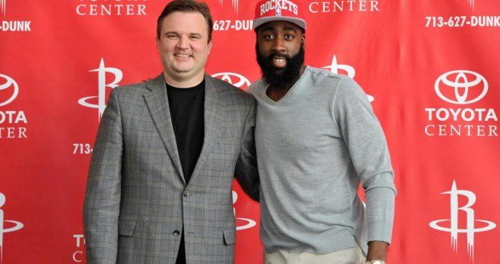 Daryl Morey agradece a la organización de los Rockets y a los fanáticos