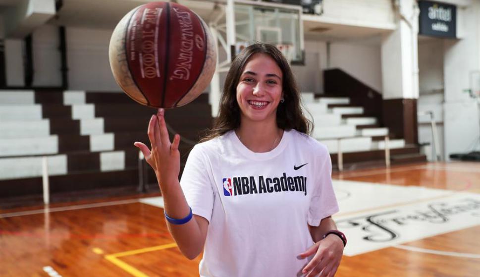 """Florencia Niski: """"Sería algo muy lindo poder ser una de las primeras uruguayas en poder cumplir este tipo de sueño"""""""