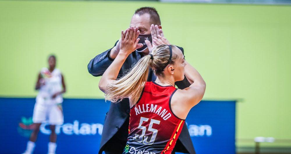 Las Belgian Cats derrotaron a Alina Iagupova y consiguieron su plaza del EuroBasket