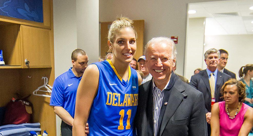 Joe Biden: Un presidente de los Estados Unidos muy vinculado a la WNBA