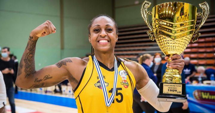 Comenzó el baloncesto en Israel y Tiffany Mitchell conquistó el torneo inaugural