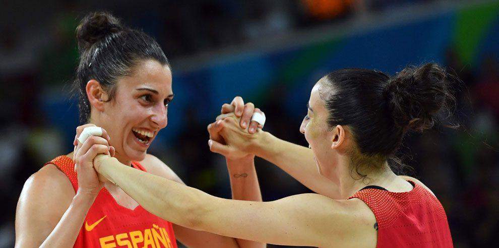 Los grupos de baloncesto femenino para los Juegos Olímpicos