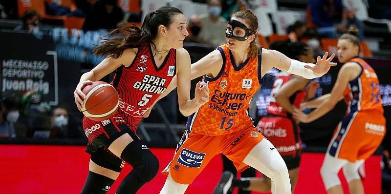 Todo o nada entre Valencia Basket y Spar Girona en la final de la Copa de la Reina