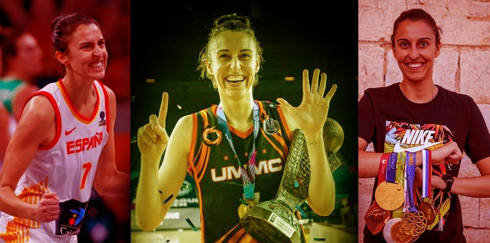 ¿Cómo se traduce 'history of basketball' a español? Muy fácil, Alba Torrens