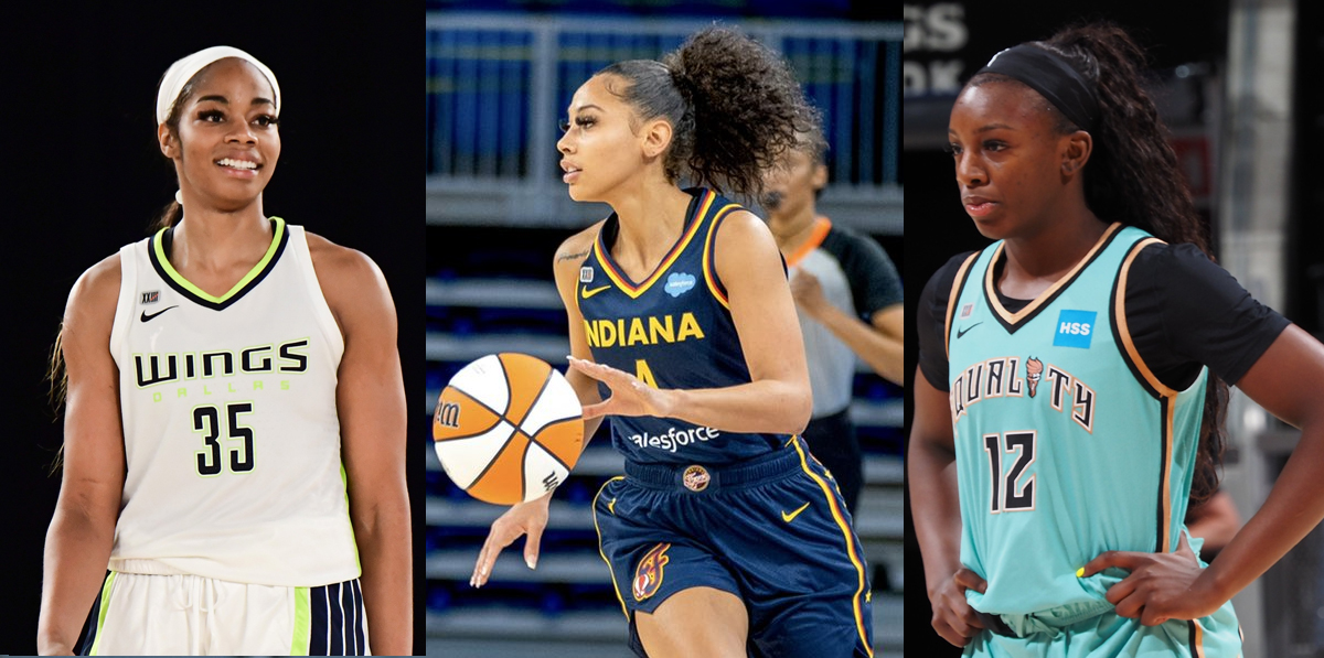 Un primer vistazo a las rookies de la WNBA