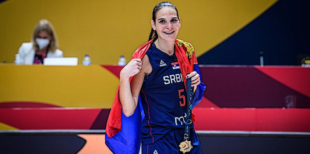 Sonja Vasic se despide de Europa como la reina del continente