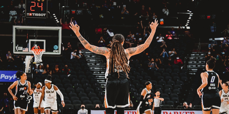 Brittney Griner, una jugadora histórica dentro de la WNBA