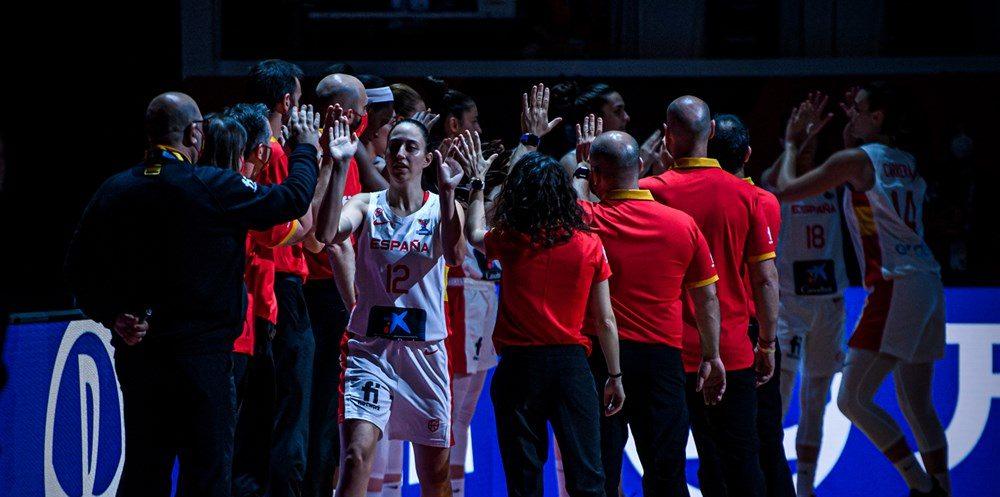 España da un recital de su mejor baloncesto para vencer a Eslovaquia