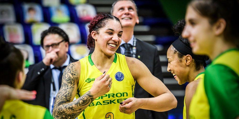 Así queda la plantilla de Sopron Basket: Un equipo más que interesante