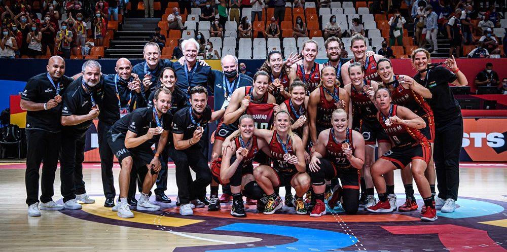 Bélgica logra la segunda medalla de su historia