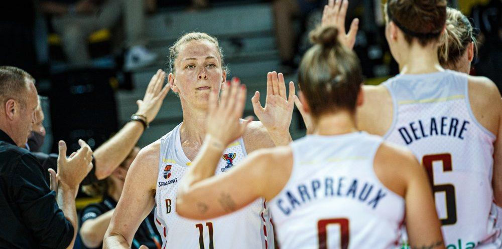 Emma Meesseman empieza el EuroBasket a un nivel sublime