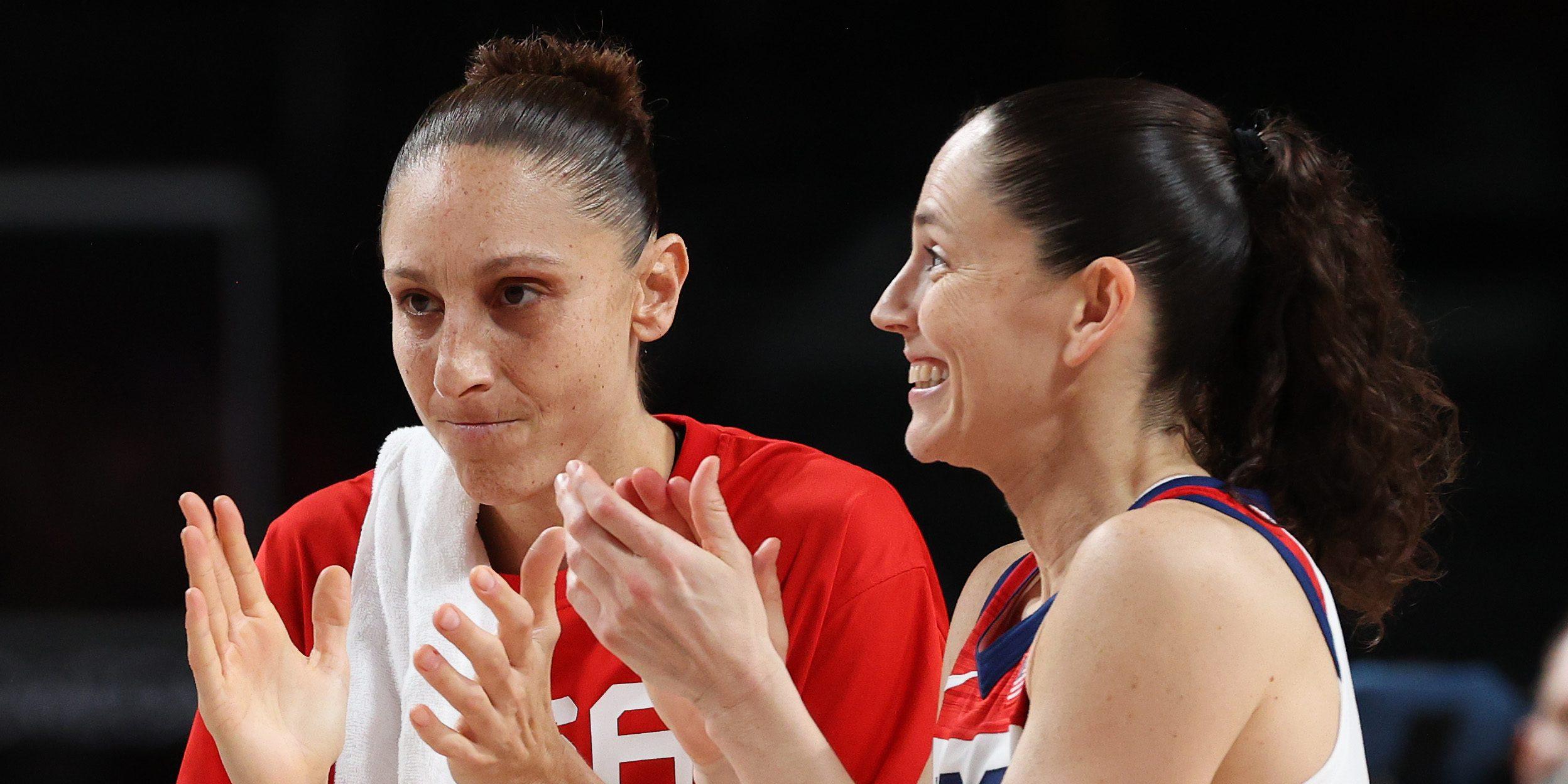 Diana Taurasi y Sue Bird llegan a su quinta final olímpica