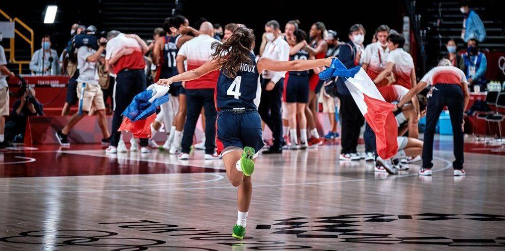 Francia se sube de nuevo a un podio olímpico