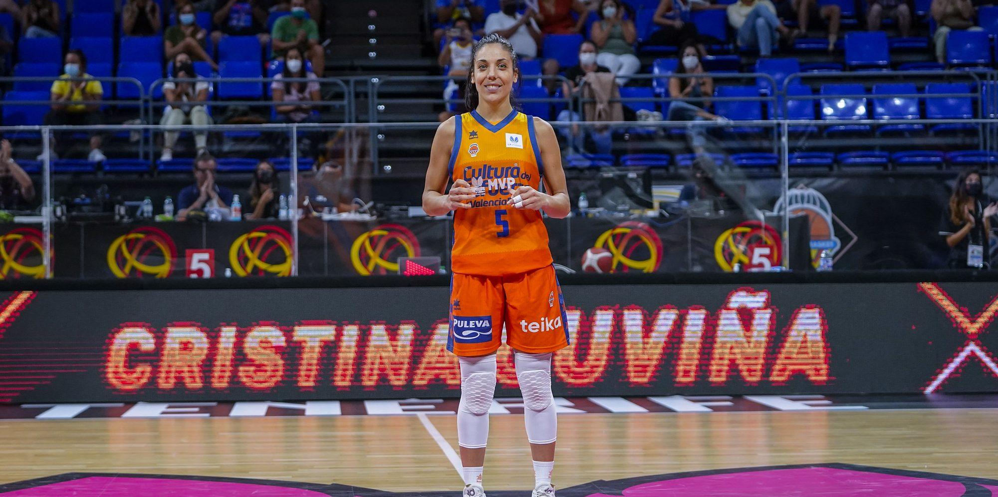 Cristina Ouviña, la MVP de la Supercopa